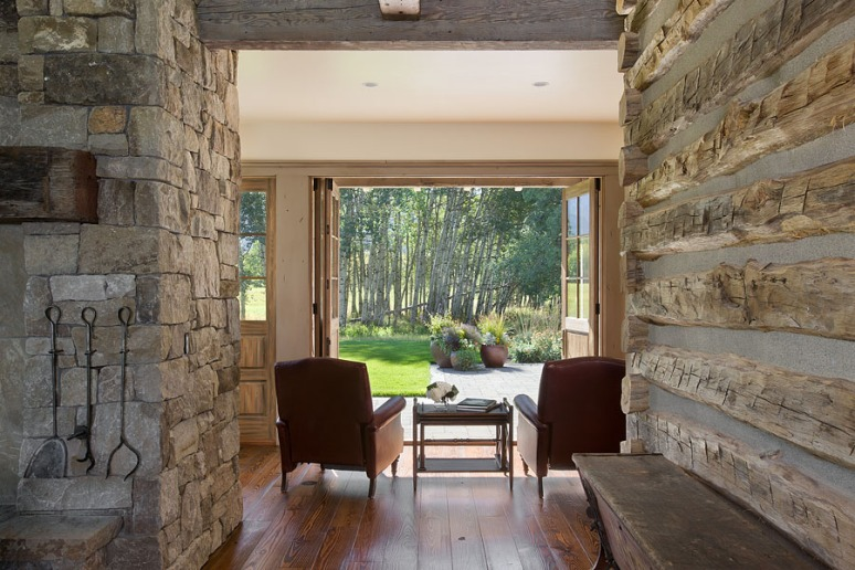 , Smith residence, Bozeman, Montana; Locati Architects; Locati Interiors; Schlauch Bottcher Construction
